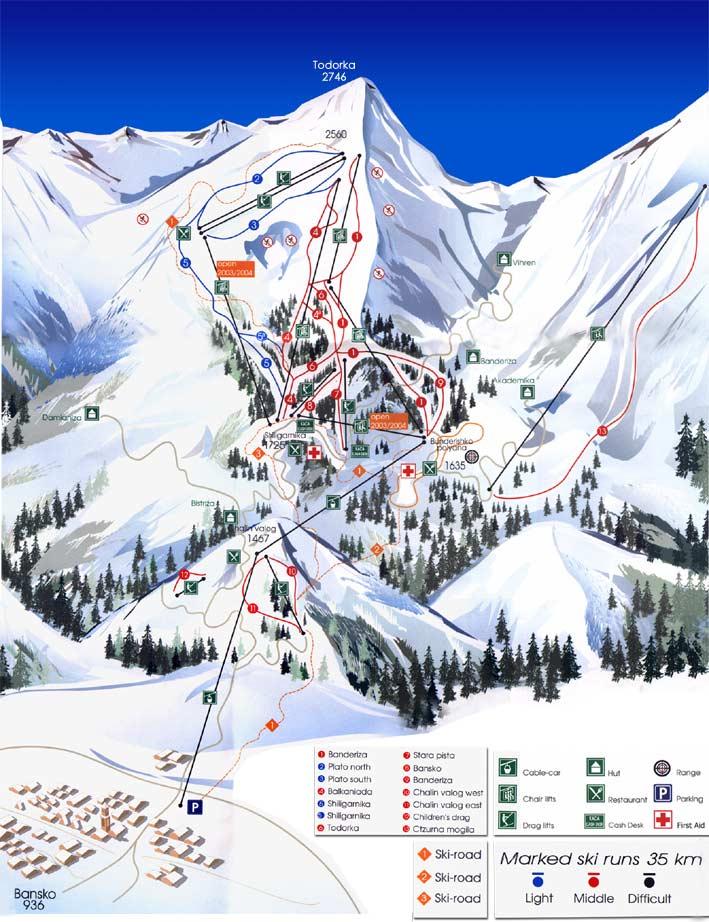 Visit To Bulgaria Bansko Ski Tracks
